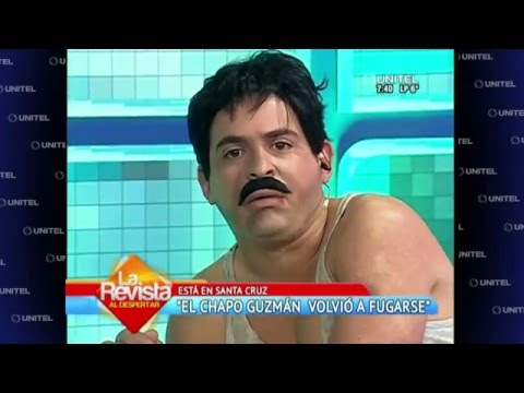 VIDEO: EL CHAPO VOLVIO A FUGARSE