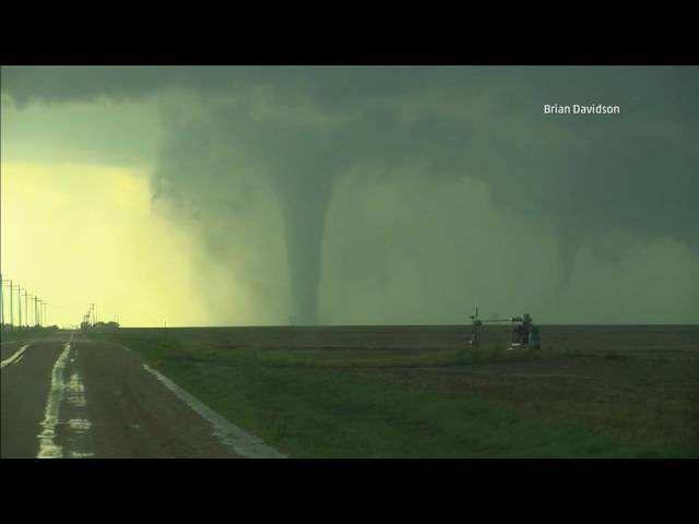 RARE Twin Tornadoes