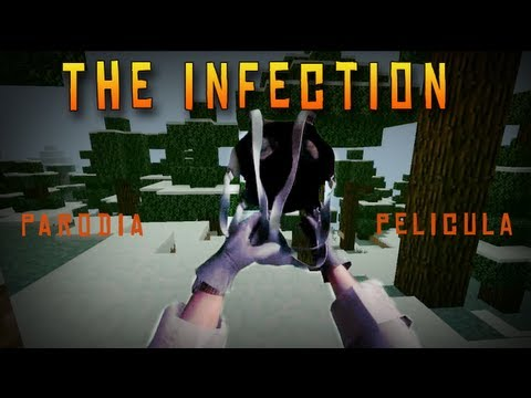 THE INFECTION!!  Minecraft Pelicula  Parodia Acción Epico!