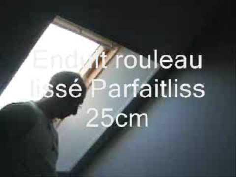 Enduit tout pret enduit rouleau beton placo placoplatre - Enduit tout pret ...