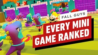 Every Fall Guys Minigame, Ranked