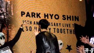 150215      Park Hyo Shin          1  14  So Happy Togrther 2015