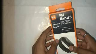 MI Band 3 || Unboxing || First Look || Specifications and Price in India