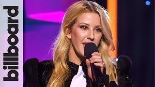 Ellie Goulding Opens Billboard