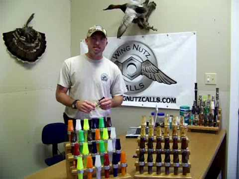 Wing Nutz Short Reed Wingmann Canada Goose Call Intro