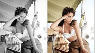 How to colorize a black and white photo with Photoshop