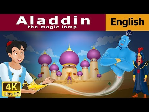 Aladdin And The Magic Lamp In English | Story | English Fairy Tales