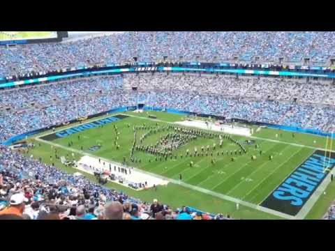 ASU Marching Band at Panthers halftime on 9/14/14