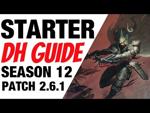 Patch 2.6.1 Demon Hunter Starter Build Guide Season 12 Diablo 3