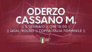 [Qual. Round] Coppa Italia F: Oderzo - Cassano Magnago 27-21
