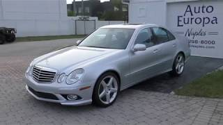 By 2009, Mercedes-Benz sorted out the W211 E-Class like this E350 AMG Sport