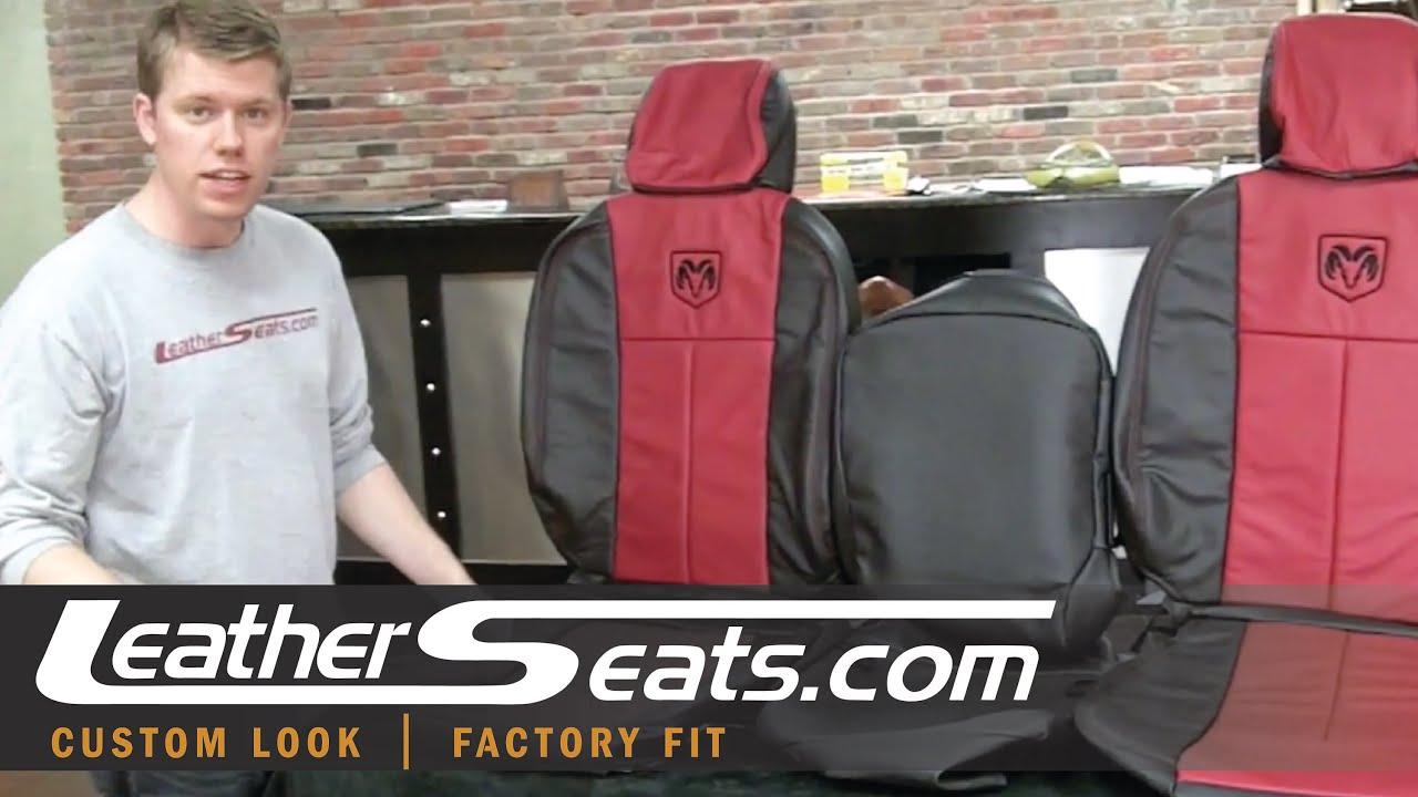 ram dodge interior custom leather kit upholstery leatherseats cab quad