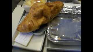 Food at Saudi Arabian Airline Boing 777 Karachi Airport to Jeddah