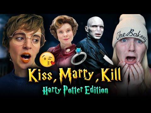 KISS, MARRY, KILL - Harry Potter Edition ft. Tessa Netting