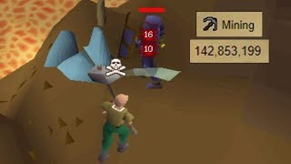 These Gold-Farmers Have 50+ Million Mining XP Each