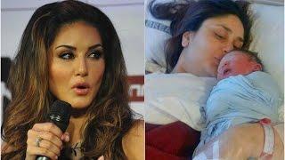 নতুন মা হওয়া কারিনাকে যা বললেন সানি লিওন   Sunny Leone's message for Kareena Kapoor !!