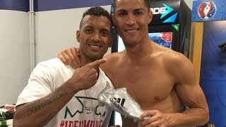 Cristiano Ronaldo gave his Euro 2016 silver boot award to Nani