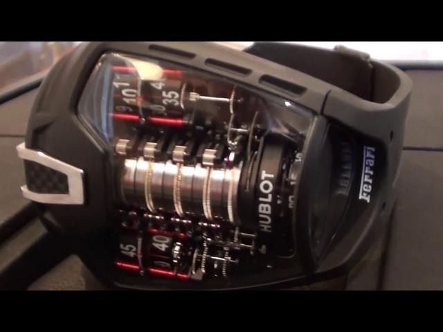 Exclusive Hublot MP-05 LaFerrari Ferrari Tourbillon Watch ...