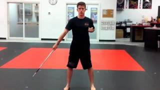 Segment 1 - Mid-Range Jahng Bong (ATA Bo Staff) Training