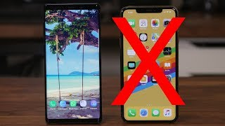 5 Reasons Why Galaxy Note 9 DESTROYS the iPhone Xs Max