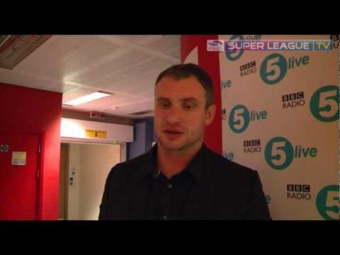 SLTV Jamie Peacock - London media day