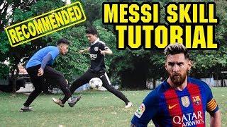 5 Cara Mudah Melewati Lawan ala Messi