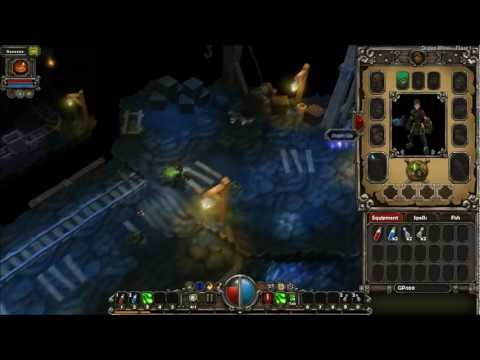 Dungeons, quests e monstros - Torchlight #1