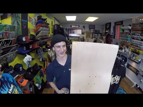 World Industries visits Max Hesh skate shop