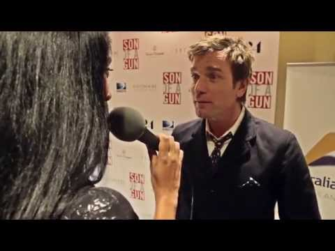 Ewan McGregor And Julius Avery At The Son Of A Gun Hollywood Premiere