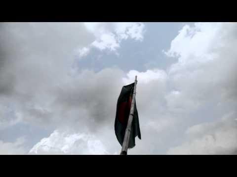 flag of Bangladesh flying on air