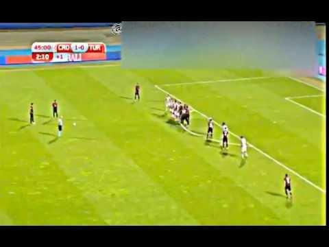 Hakan Çalhanoğlu Frikik Golü Türkiye 1-1 Hırvatistan