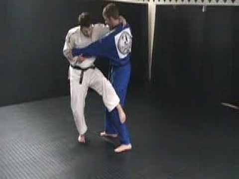 Judo Throw: OSOTO GARI Image 1