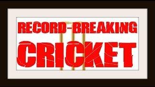 Record Breaking Cricket...Cassette Trash Vol.3