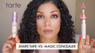 MAGIC STAR CONCEALER  vs SHAPE TAPE | JEFFREE STAR COSMETICS