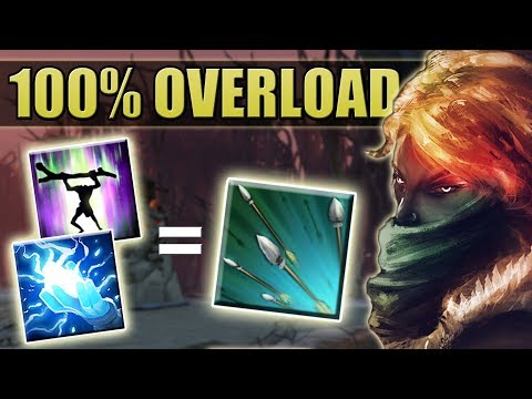 Permanent Overload with Focus Fire [Max Attack Speed Overload Abuse] Dota 2 Ability Draft