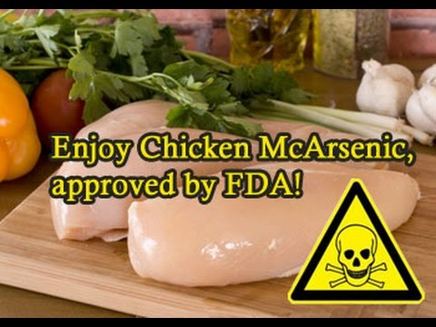 American FDA approves arsenic in chickens