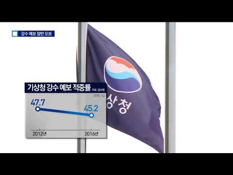 비 예보 5년간 절반은 '오보'…3500억 위성도 썩혔다