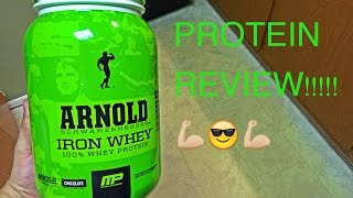 Musclepharm Arnold Schwarzenegger Series Chocolate Protein Review! +HD