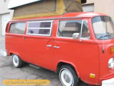 Rare Automatic 1973 VW Sportsmobile