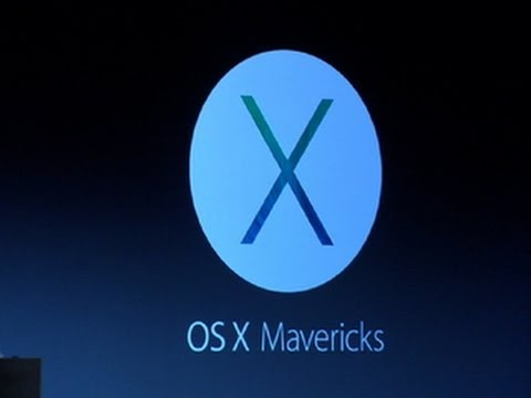 Apple previews all-new Mac OS X Mavericks