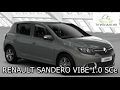 Lagu Teste 2017 Renault Sandero VIBE 1.0 12V SCe 3 cilindros (HD)