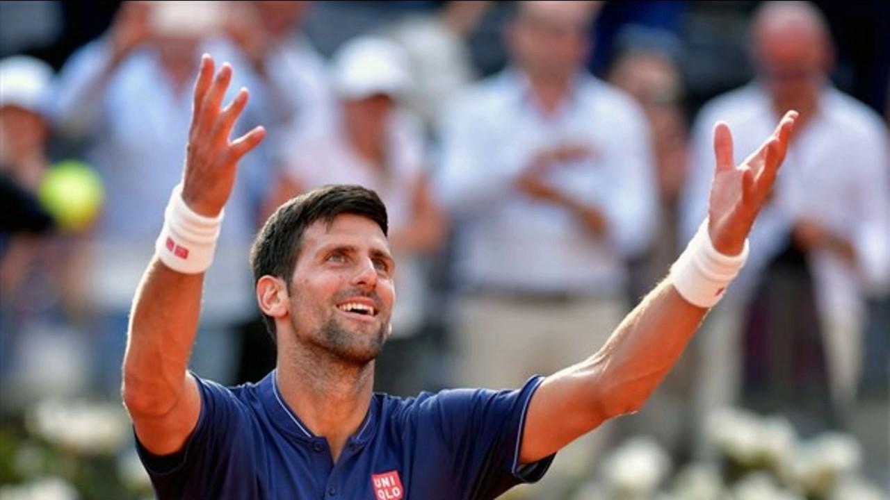 Novak Djokovic Juan Martin Del Potro Rome Masters