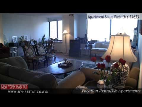 Roosevelt Island, New York City - Video tour of a two bedroom roommate share apartment