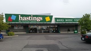 Hastings Stores To Close