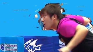 Jilin TTA Euro Asia Cup Chen weixing -vs- Zhu yi( top TT amateur)