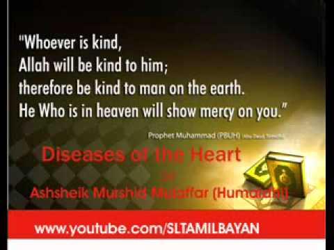 Tamil Bayan Ash-sheikh Murshid Mulaffer Diseases Of The Heart video