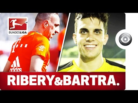Ribéry vs. Bartra - The experienced One vs. The new One