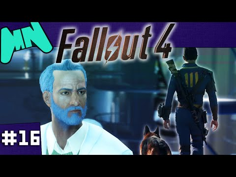 FALLOUT 4 |  BLIND PLAYTHROUGH |  EP16 - NUCLEAR POWERED