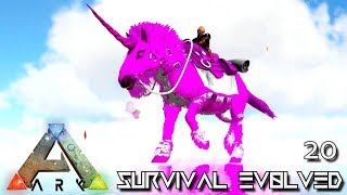 ARK: SURVIVAL EVOLVED - FLYING MALIN UNICORN & PTERANODON E20 !!! ( PRIMAL FEAR PYRIA )