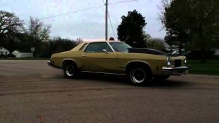 1974 Olds burnout